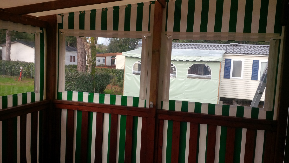 couverture-terrasse-mobile-home-vue-interieure - Sellerie biscay